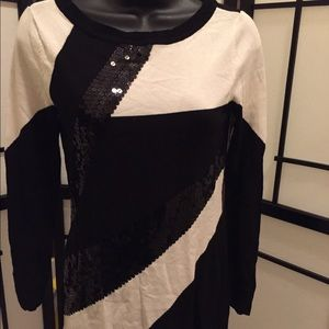 Sequin top by International Concepts